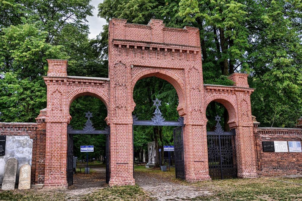 Cementery Jewish lodz