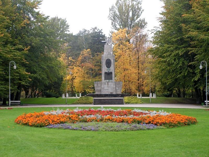 Katowice Park kosciuszki