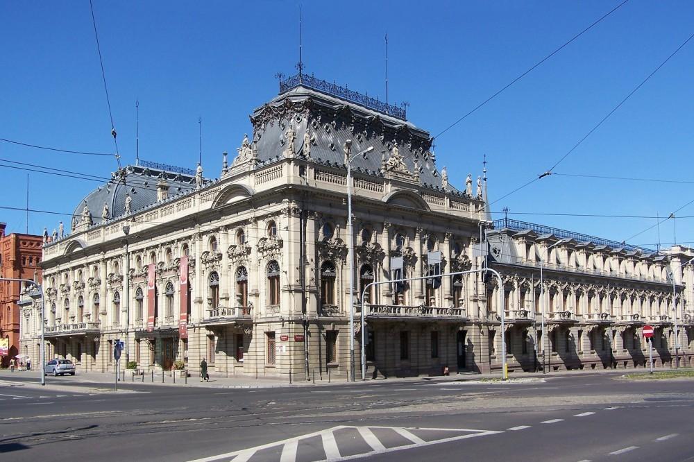 Poznanski Palace Lodz