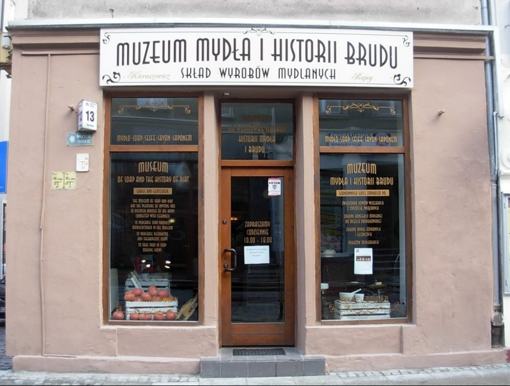 Museum of soap and history of dirt Bydgoscz