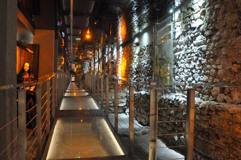 Rynek Underground Museum in Krakow