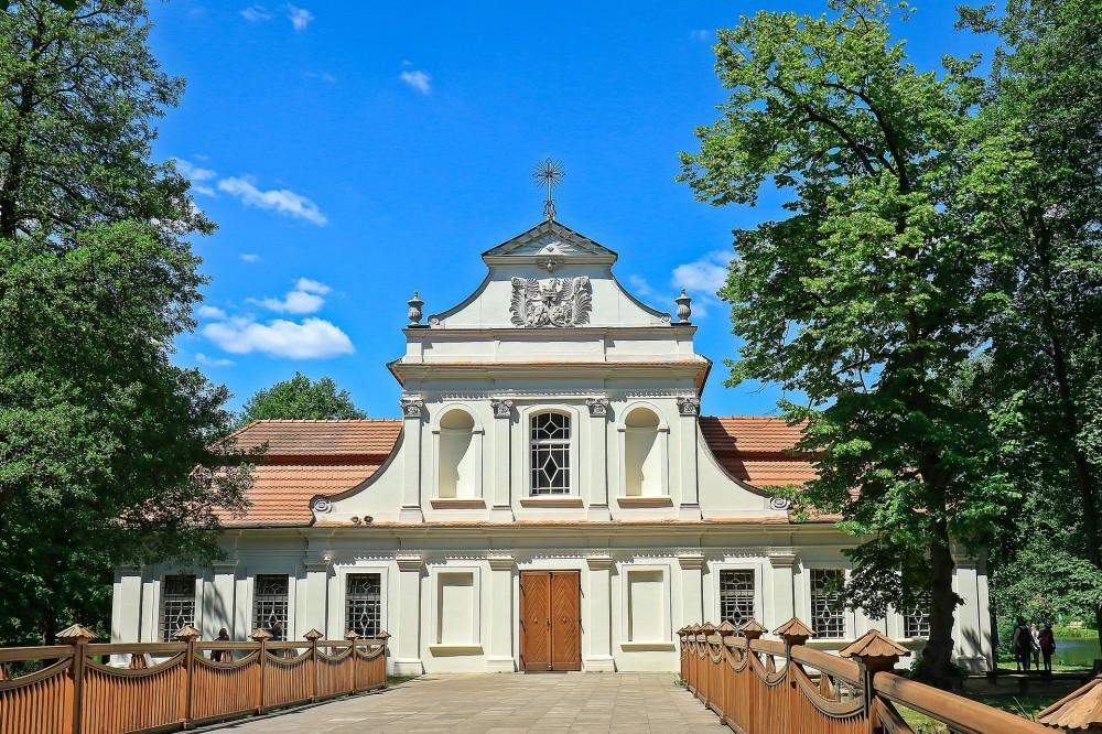 Church on the water Zwierzyniec