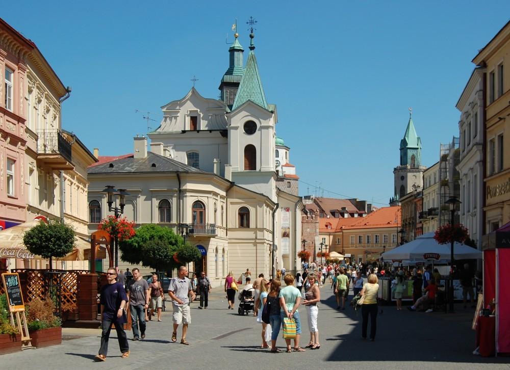 Krakowskie przedmiescie Lublin