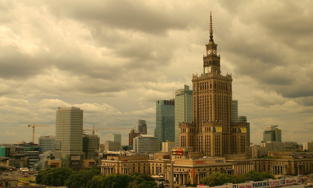 Palace of Culture and Sience in Warsaw