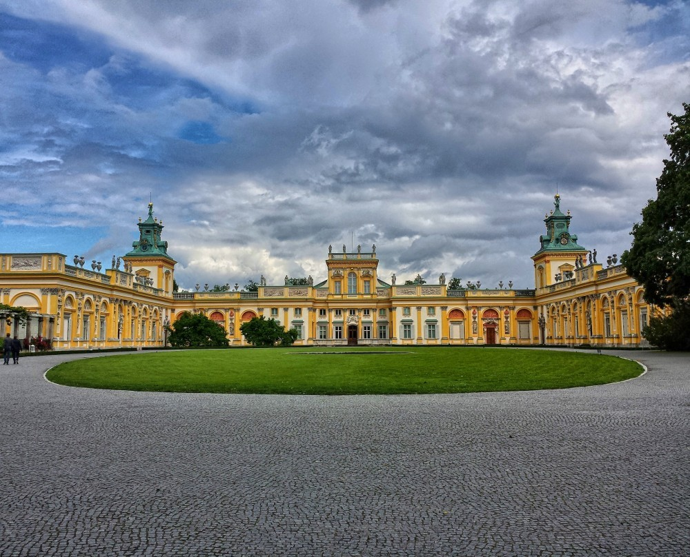 The Wilanow Palace in Warsaw