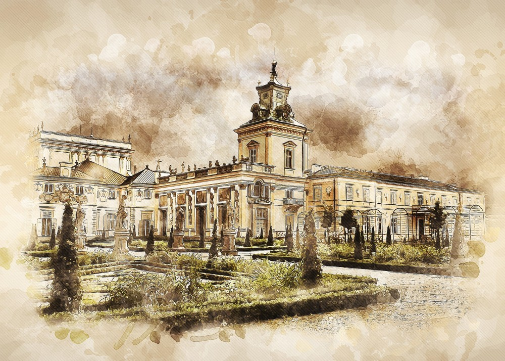 The Wilanow Palace Warsaw