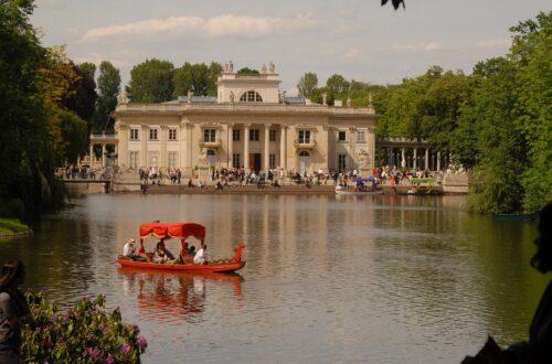 The Lazienki Park Warsaw