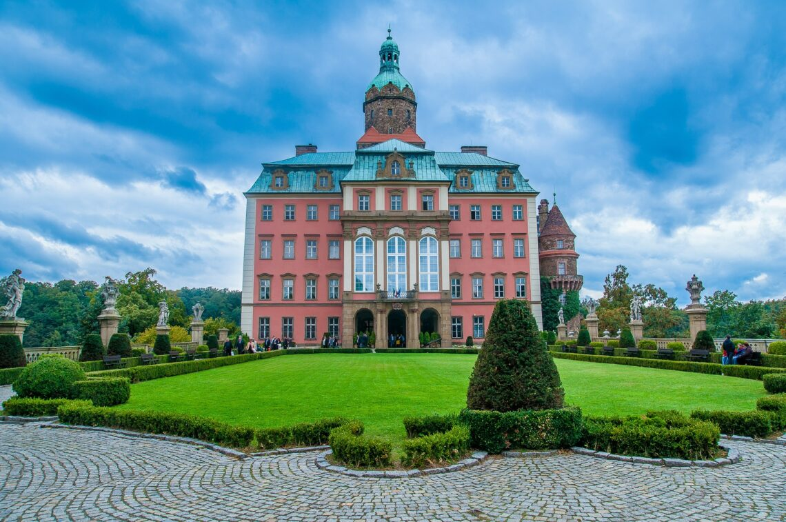 Ksiaz Castle In Poland