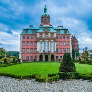 Ksiaz Castle In Poland