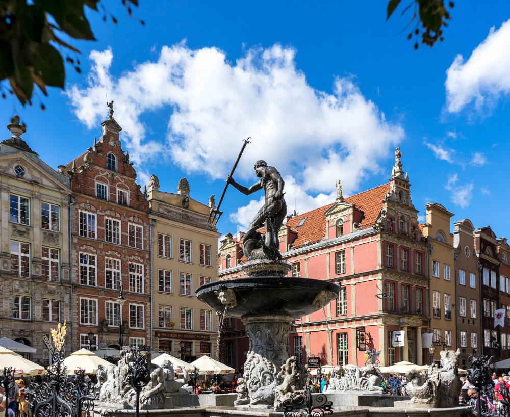 Neptun Fountain Gdansk
