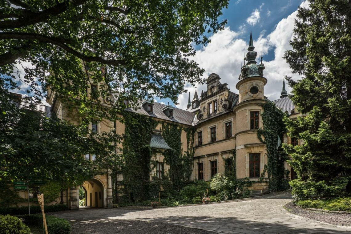 Kliczkow Castle in Poland
