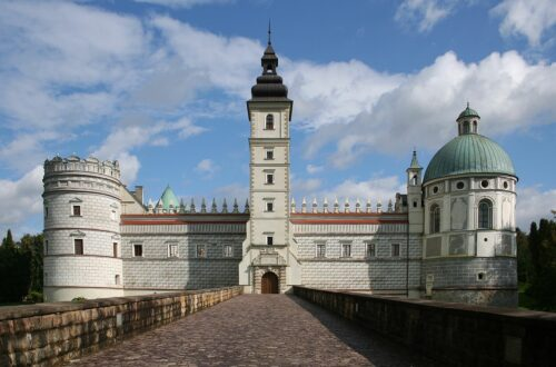 Krasiczyn Castle in Poland