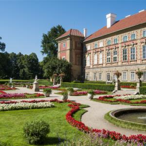 Lancut Castle in Poland