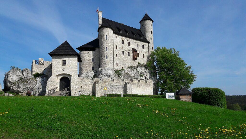 Bobolice Castle in Poland