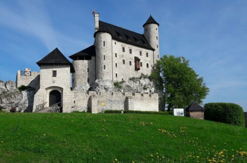 Bobolice Castle in Poland