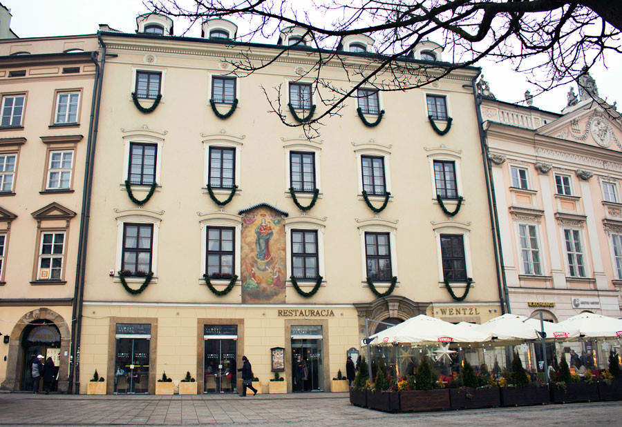 Restaurants in Krakow Old Town