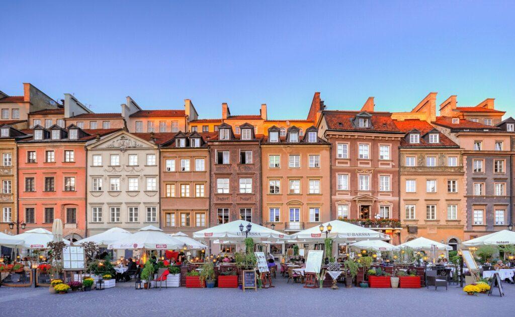 5 Best Restaurants in Warsaw's Old Town
