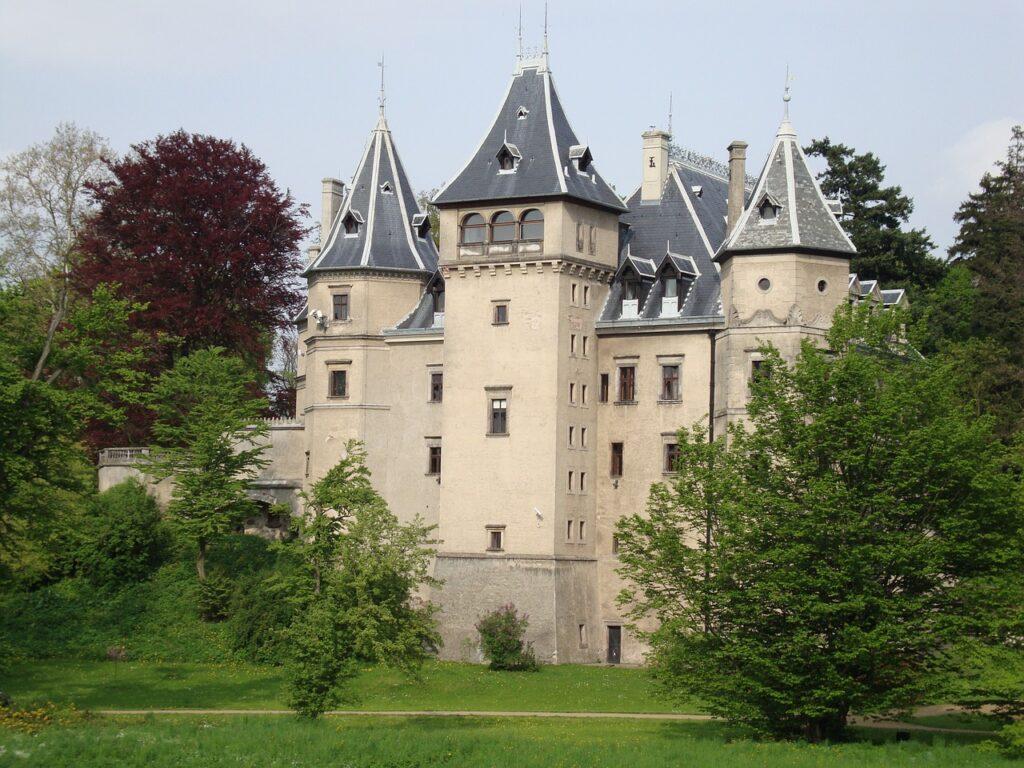 Goluchow Castle in Poland