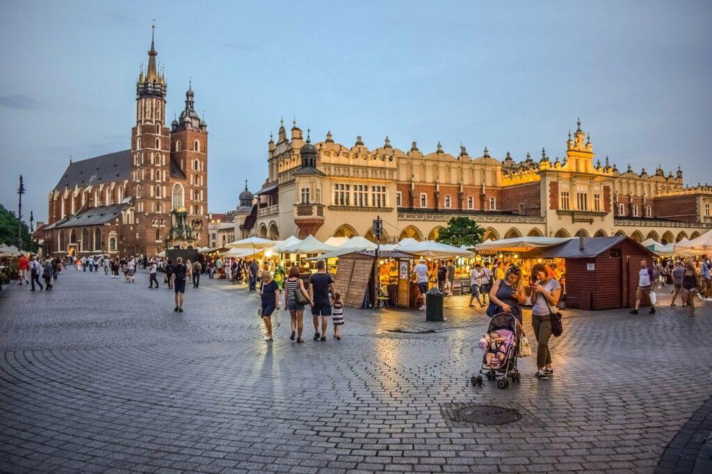 Exploring Krakow's Old Town