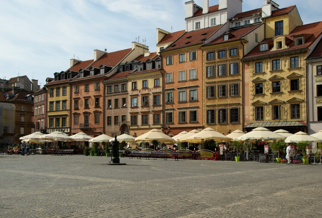 Exploring Warsaw's Old Town