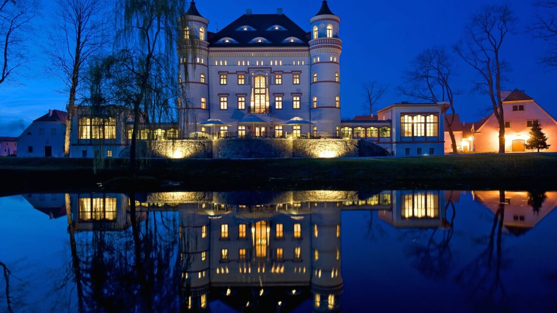 Wojanow Palace in Poland