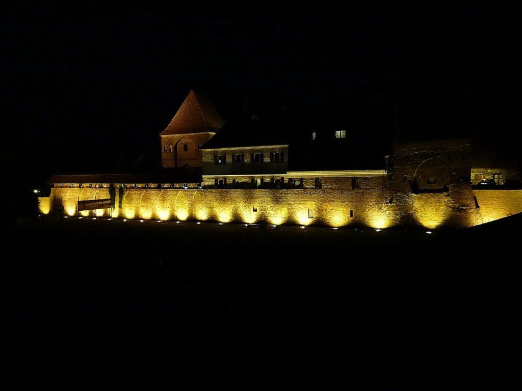 Teutonic Knights' Castle in Torun