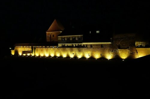 Teutonic Knight's Castle in Torun