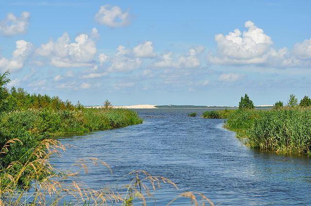 Lebsko Lake Poland