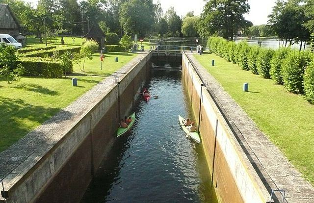 Augustow Canal Poland
