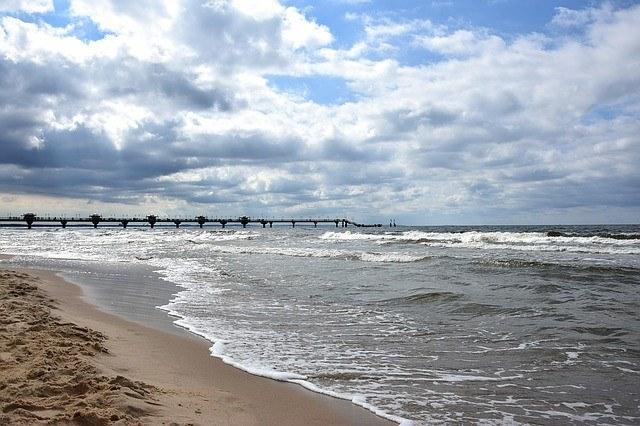Miedzyzdroje Beach