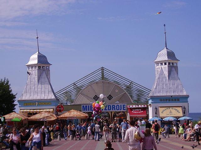 Miedzyzdroje Pier