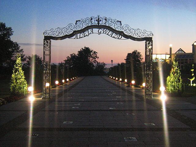 Walk of Fame's Miedzyzdroje