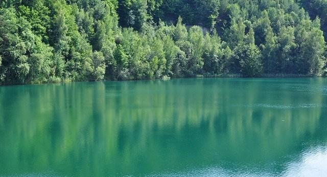 Turquoise Lake Wolin Island