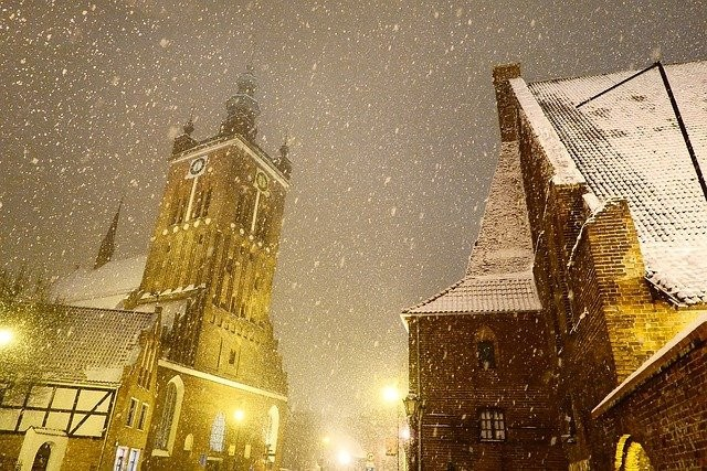 Gdansk in Winter