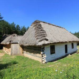 Etnographic Park Tokarnia in Poland