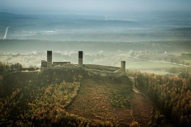Checiny castle Poland